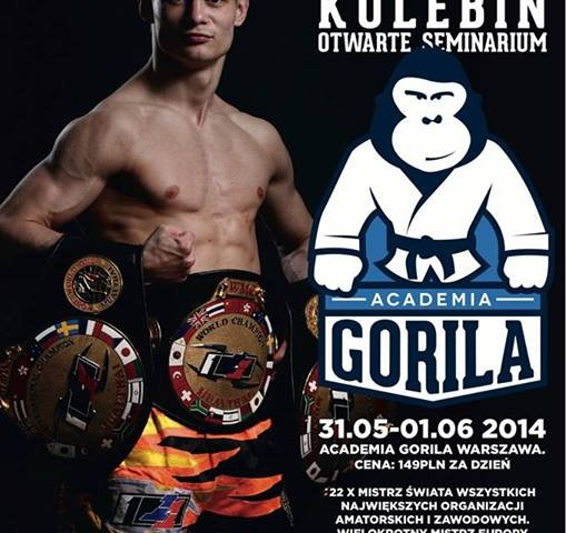 "Andrei ""Bullet"" Kulebin – otwarte seminarium z legendą światowego Muay Thai w Warszawie!"
