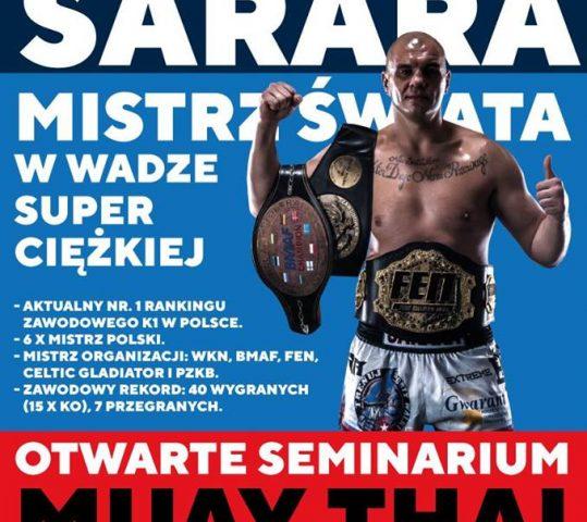 Mistrz Świata w wadze superciężkiej – Tomasz Sarara – Seminarium!