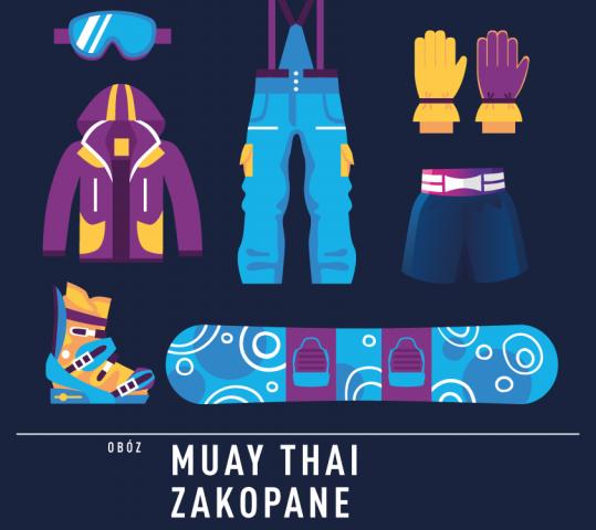 Gorila Winter Camp 2020 – obóz Muay Thai – narty, deska, Tatry